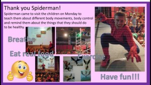 Ross as SpiderMan