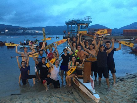 TRX DRAGONBOAT TEAM!