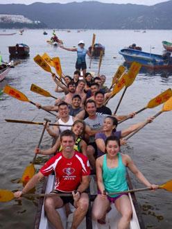 Dragon Boat - Group training