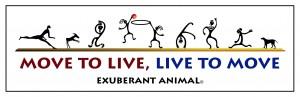 exuberant animal logo