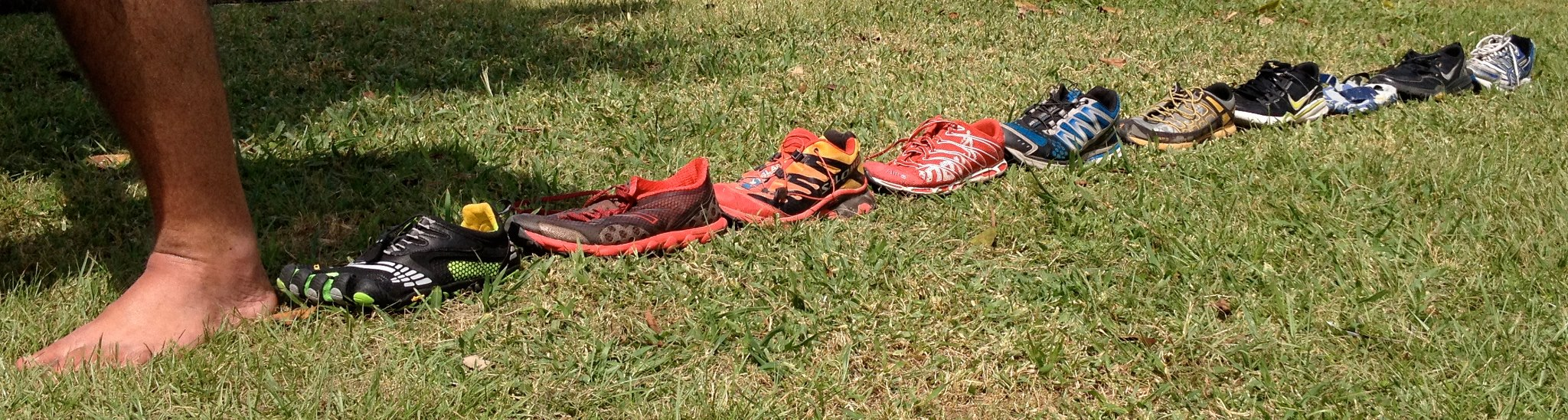 EVOLUTION OF MY RUNNING SHOES