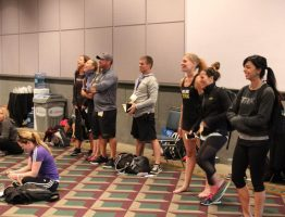 PRESENTING TRX MOBILITY AT IDEAFIT IN LA
